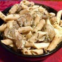 Vegan Mushroom Pasta | Stroganoff