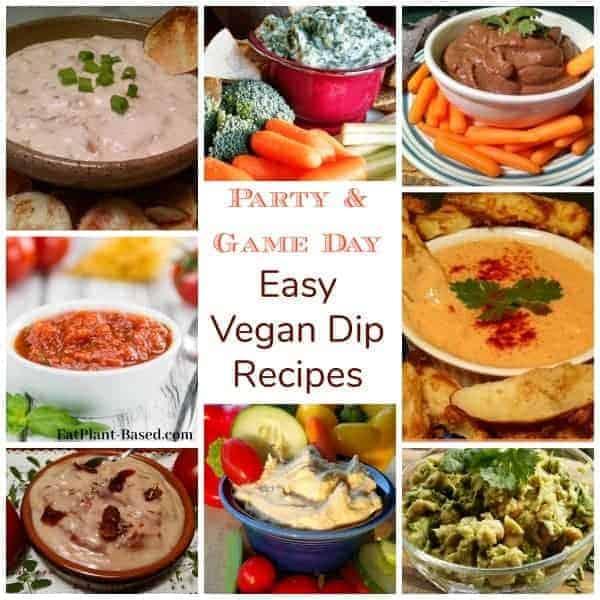 easy vegan dip recipes