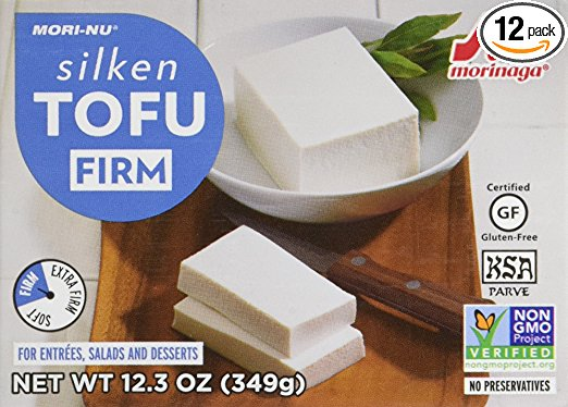 silken firm tofu in box