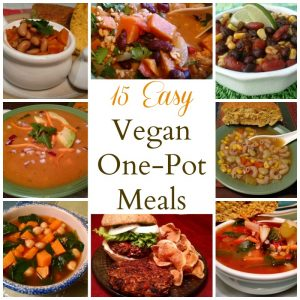 Easy Vegan One Pot Meals