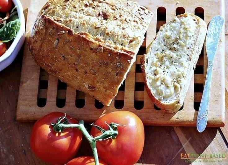 Vegan Garlic Butter | Oil-Free Garlic & Herb