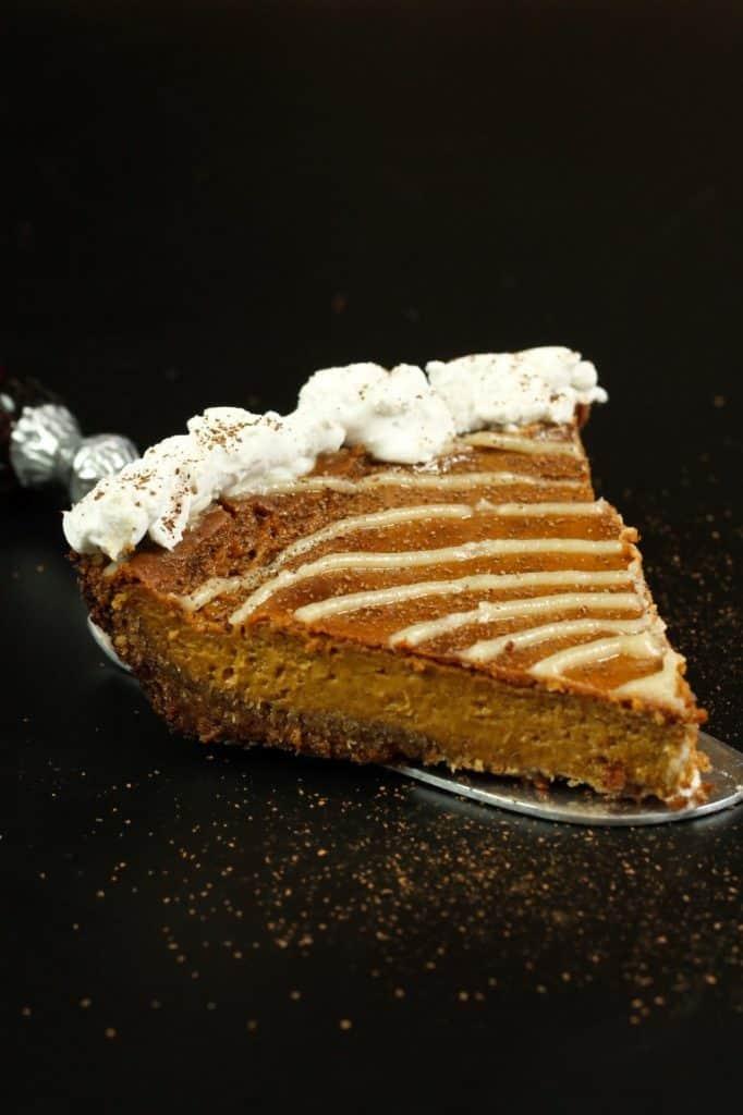 Cinnamon Roll Pumpkin Pie