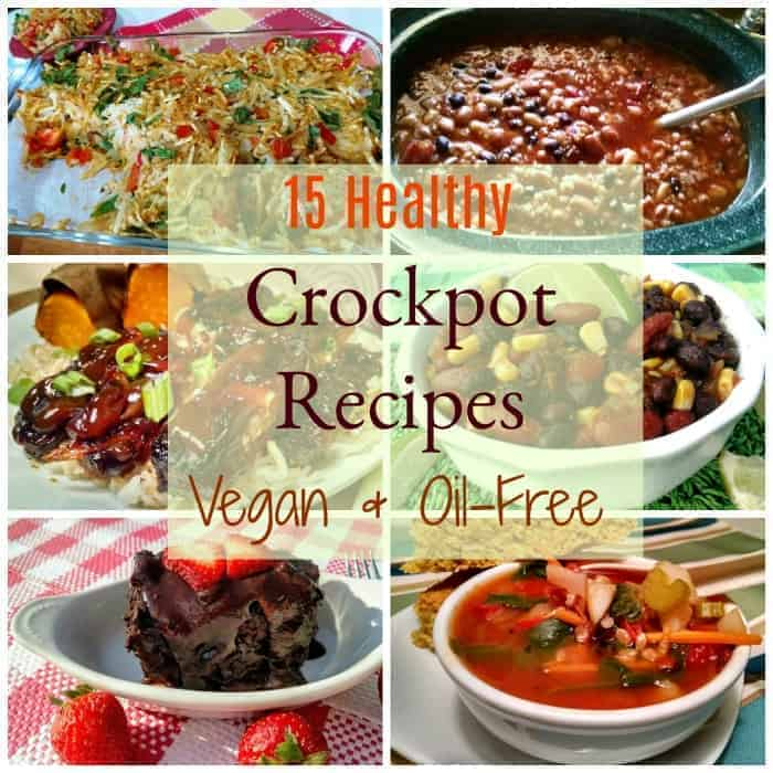 Healthy Vegan Crockpot Recipes