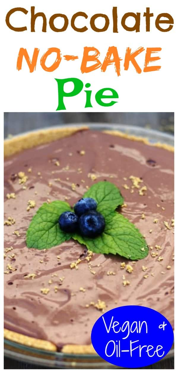 Chocolate no bake pie