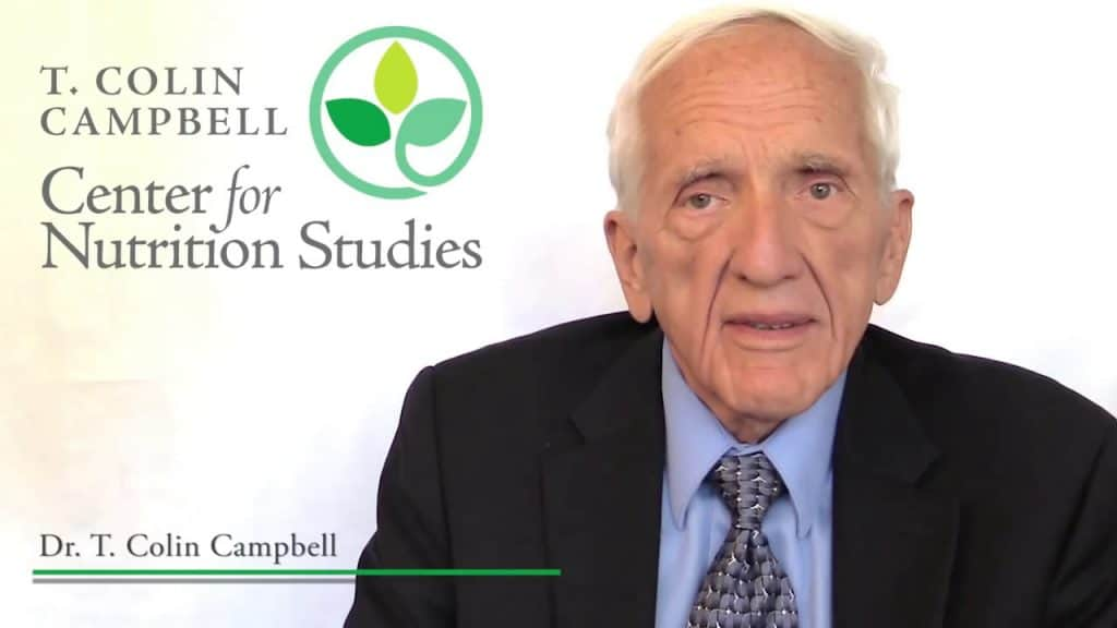 Dr T Colin Campbell PhD plant based diet