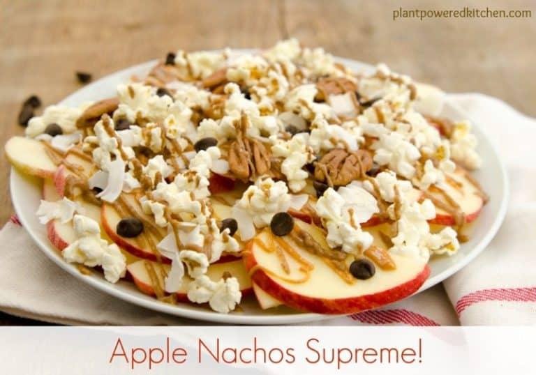 Apple Nacho Supreme from Dreena Burton