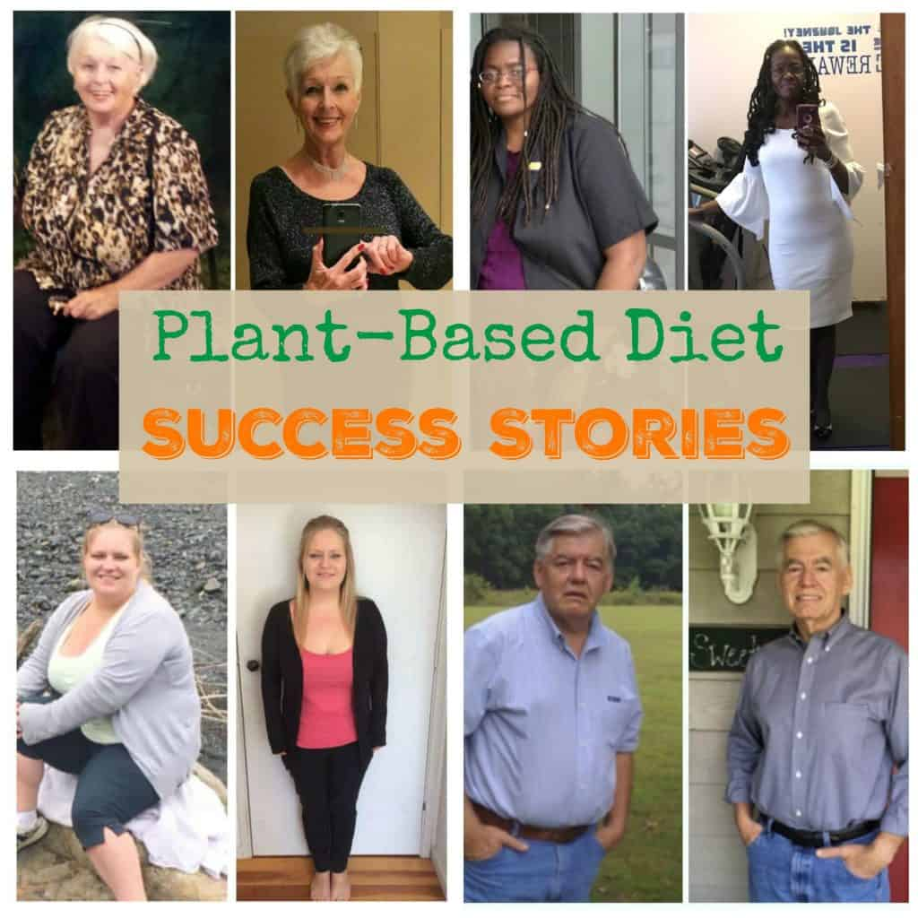 plant based diet before and after