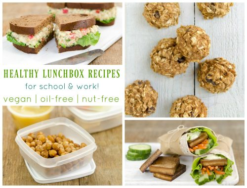 healthy lunch box recipes from dreena burton