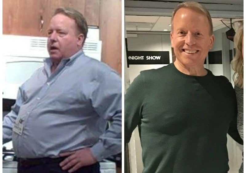 Eric OGrey plant based diet weight loss before and after