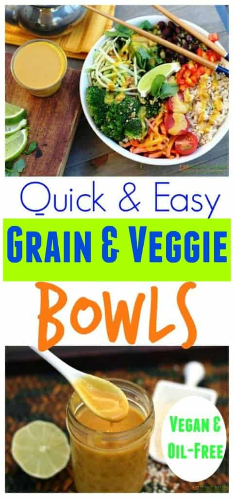 Grain and veggie bowls