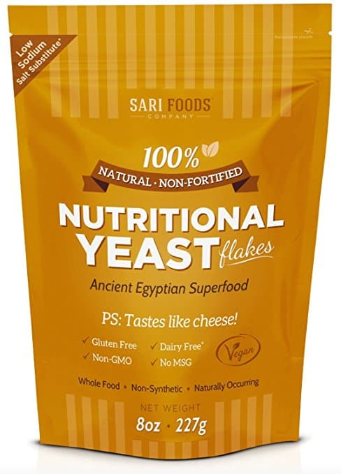 Pure Natural Nutritional Yeast Flakes