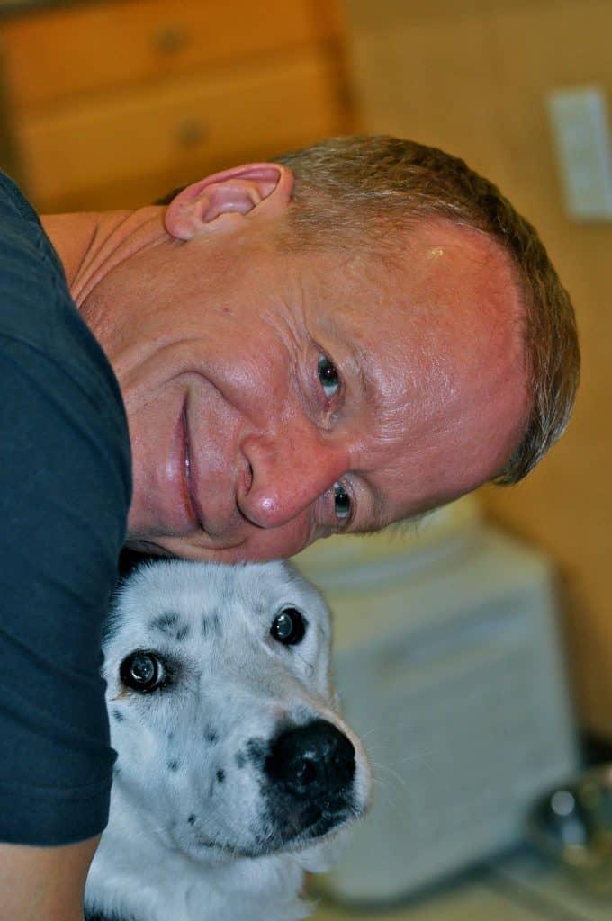 eric o'grey and peety the dog