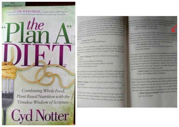 the plan a diet book