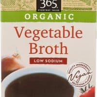 365 Everyday Value Organic Low Sodium Vegetable Broth