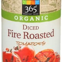 Organic Diced Fire Roasted Tomatoes
