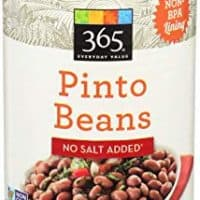 365 Everyday Value, Pinto Beans No Salt Added, 15.5 Ounce
