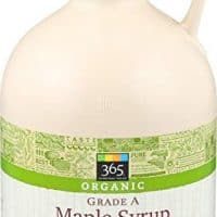 365 Everyday Value Organic Grade A Maple Syrup Dark Color, 32 Ounce