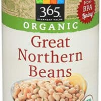 365 Everyday Value, Organic Great Northern Beans, 15 Ounce