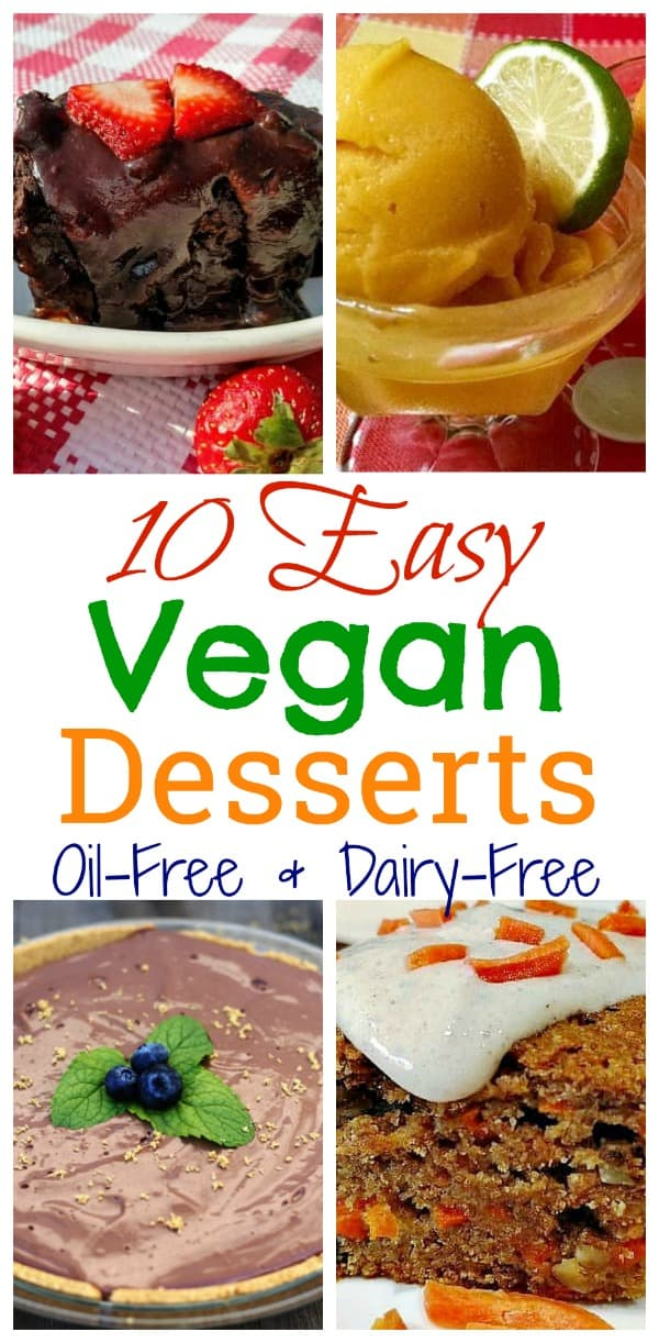 healthy vegan desserts