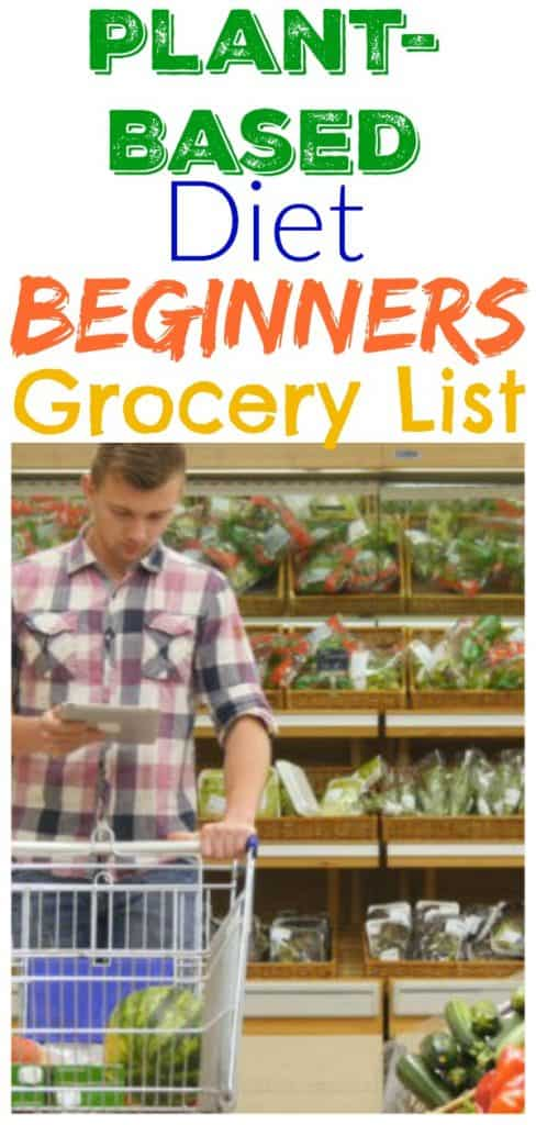 Plant Based Diet Grocery List