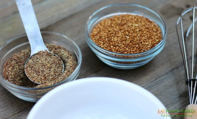 flax egg as a gluten free egg substitute in baking