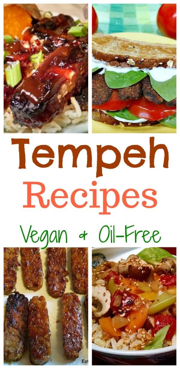 vegan tempeh recipes oil free