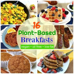 plant based breakfasts