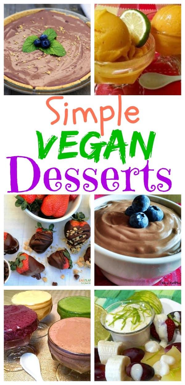 Simple Vegan Desserts