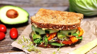 Ultimate Veggie & Hummus Sandwich