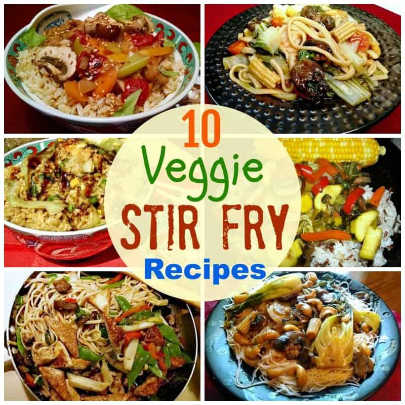 10 easy vegetable stir fries