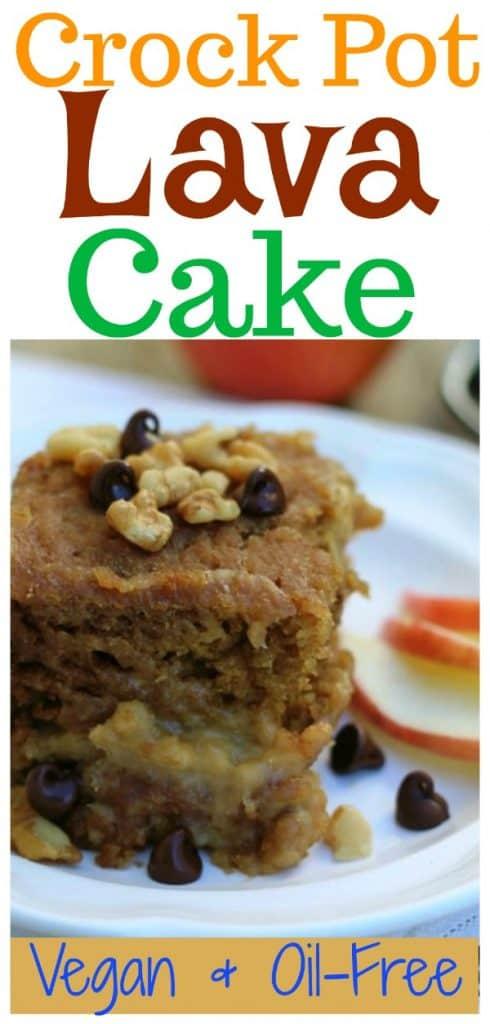 crock pot vanilla lava cake