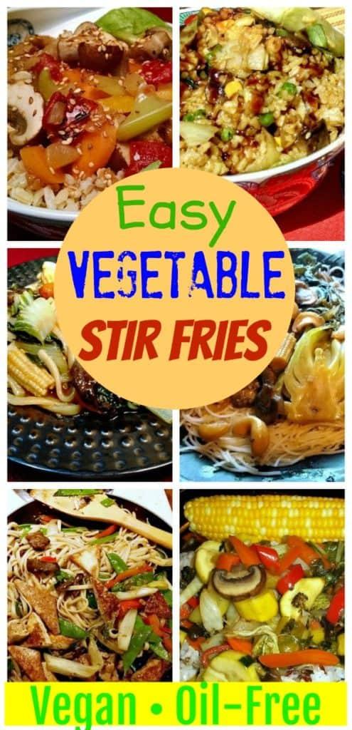 veggie stir fries