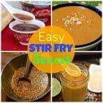 Simple stir fry sauces