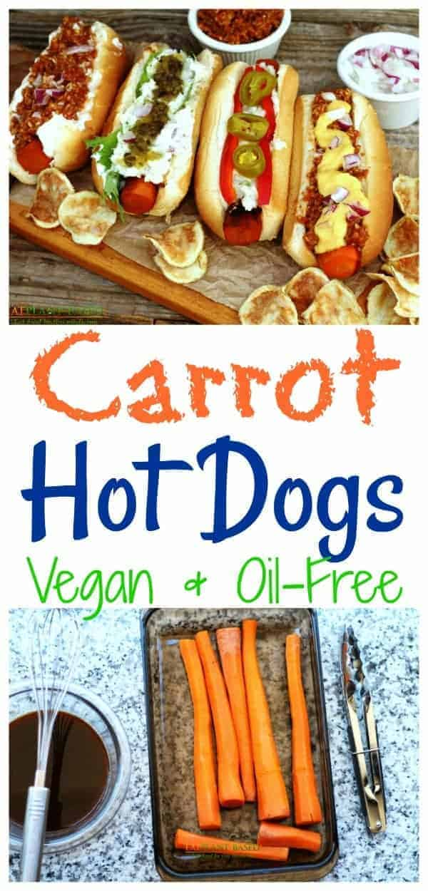 Okay, my confession is that, though I love raw carrots, I have never cared for cooked carrots much. That is until these grilled carrot dogs came into my life. No kidding, these things have changed my mind about cooked carrots!