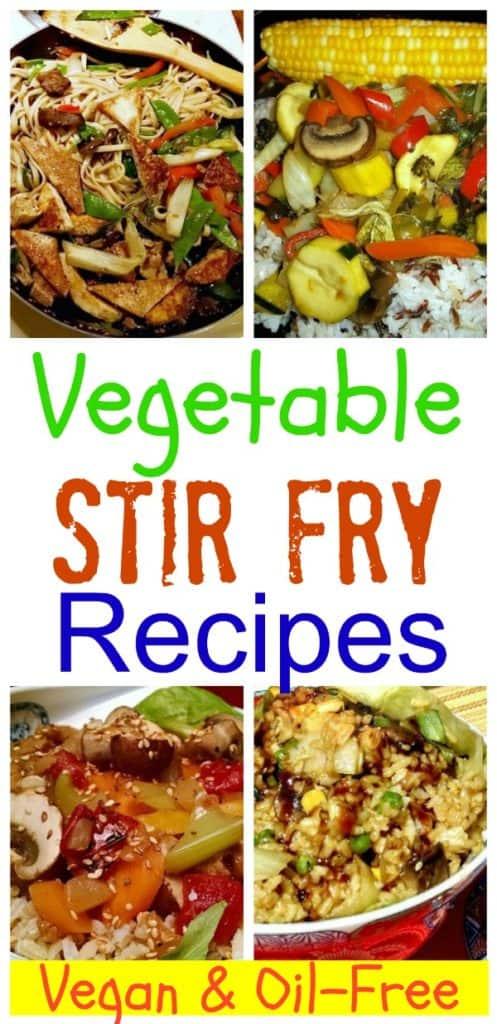 vegetable stir fry recipes