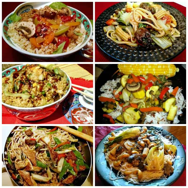 vegetable stir fry reicpes