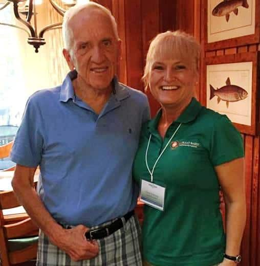 T Colin Campbell and Terri with EatPlant-Based