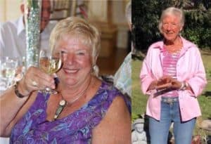 esther loveridge before and after photo