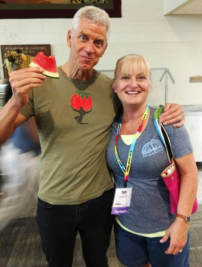 Rip Esselstyn and Terri with EatPlant-Based