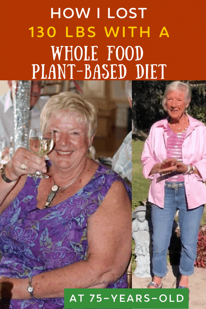 plant based diet weight loss photo collage for pinterest