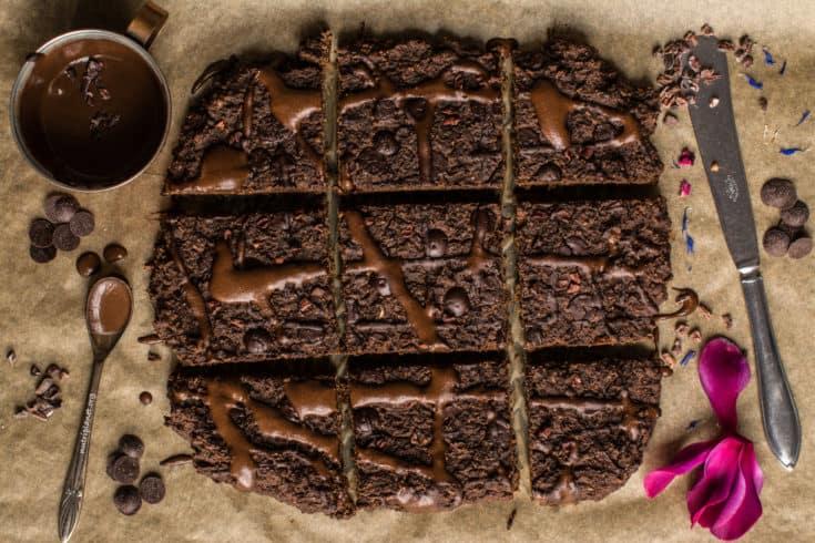 Lentil Brownies [Vegan, Gluten Free and Oil Free], Video