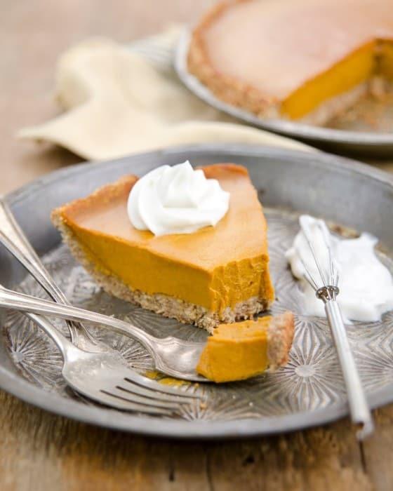 The GREAT Pumpkin Pie! (vegan, soy-free, oil-free, gluten-free)