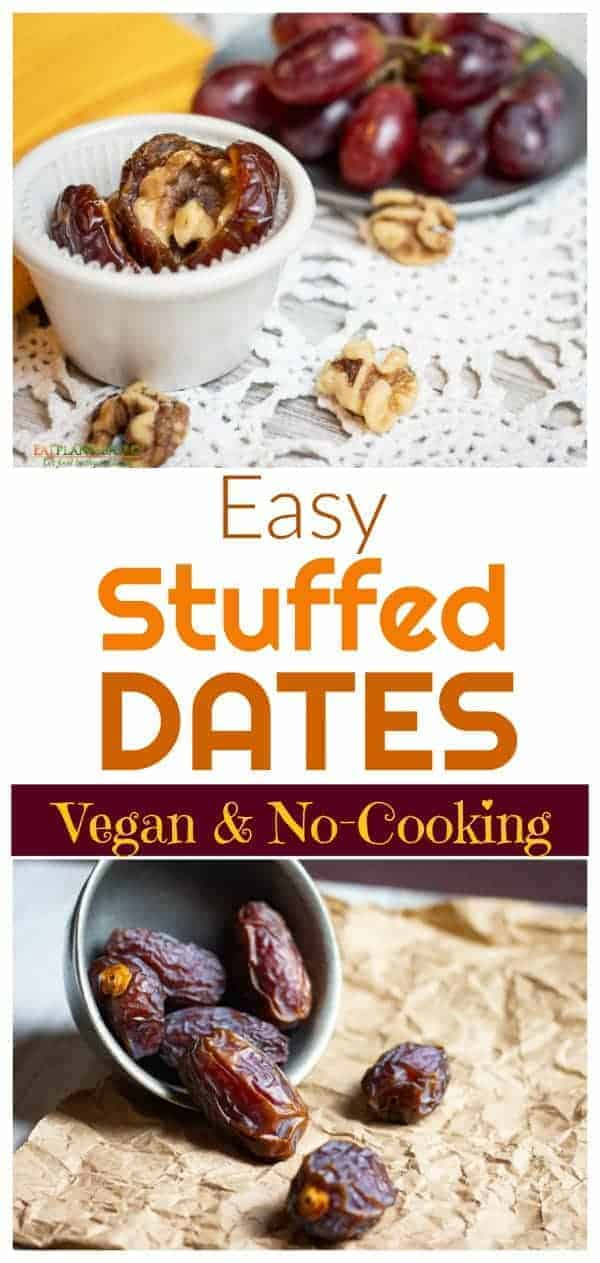 Sometimes you just need something a little sweet that doesn't require a lot of effort. Whether you're making a snack for yourself or for a crowd, these easy stuffed dates are the perfect healthy dessert or snack.