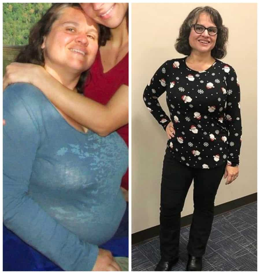 Carissa Moore wfpb diet before and after photo