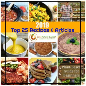 pinterest collage of top 25 wfpb photos of food