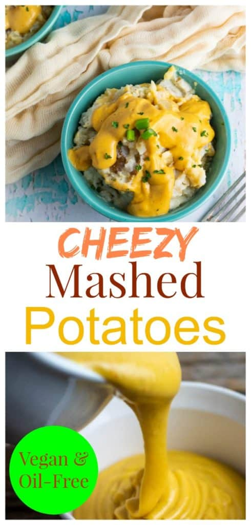 cheesy mashed potatoes pinterest collage