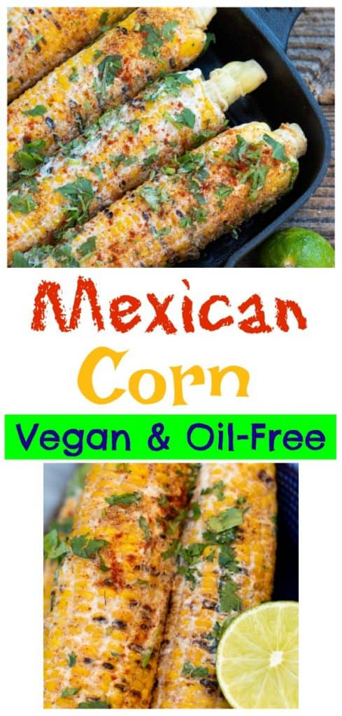 mexican corn photo collage for pinterest
