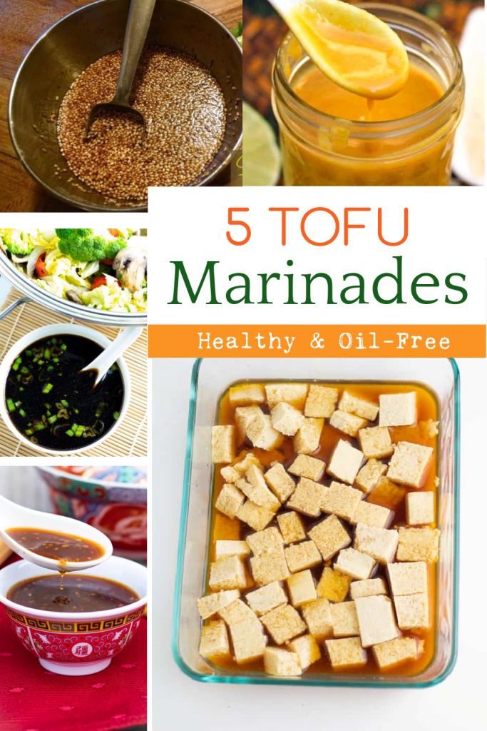 tofu marinade recipes photo collage for pinterest
