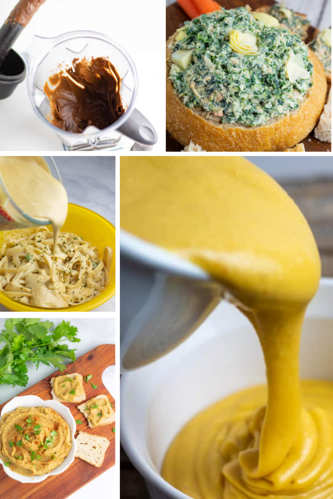 vitamix recipes photo collage for pinterest without title