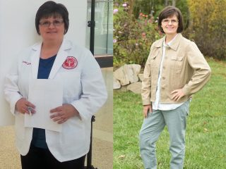 Rachel Echols before and after weight loss